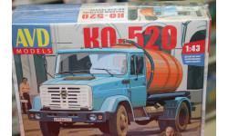 Вакуумная машина КО-520 (4333) 1:43 Автомобиль в деталях  возможен обмен