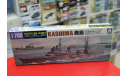 045329 Japanese Seaplane Carrier Kashima 1:700 Aoshima возможен обмен, сборные модели кораблей, флота, scale0