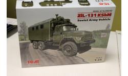 ЗиЛ-131 КШМ, Советский военный автомобиль 35517 1:35 ICM