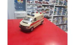 VW Transporter Скорая помощь 1:43 Schabak  возможен обмен, масштабная модель, scale43