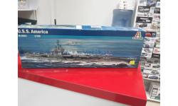 5521 U.S.S. America 1:720 Italeri Возможен обмен, сборные модели кораблей, флота
