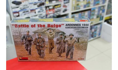 35084 Операция 'Battle on the Bulge' Анденны, 1944 1:35 Miniart возможен обмен, миниатюры, фигуры, scale35