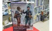 35198 Воссоединение семьи – встреча братьев. Серия Гражданской войны в США 1:35 MaserBox возможен обмен, миниатюры, фигуры, Master Box, scale35