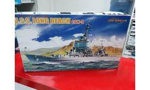 7091 U.S.S. Long Beach CGN-9 1:700 Cybber-Hobby  возможен обмен, сборные модели кораблей, флота