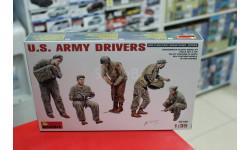 35180М 'Американские Армейские Водители'  1:35 Miniart возможен обмен, миниатюры, фигуры, scale35