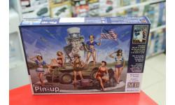 35183 Пинап 1:35 MasterBox возможен обмен, миниатюры, фигуры, Master Box, scale35