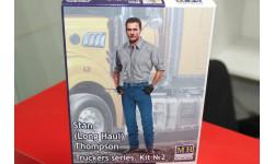 24042 Серия дальнобойщики. Водитель грузовика Стэн (Лонг Хол) Томпсон 1:24 Master BOX возможен обмен, миниатюры, фигуры, 1:35, 1/35