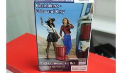 24041 Серия дальнобойщики. Автостоп, Эрика и Кери 1:24 Master BOX возможен обмен, миниатюры, фигуры, scale35
