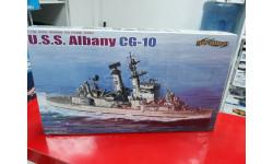 7097 U.S.S. Albany CG-10 1:700 Cybber-Hobby  возможен обмен