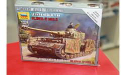 6240 Немецкий средний танк Т-4 H  1:100 Звезда возможен обмен, сборные модели бронетехники, танков, бтт, scale100