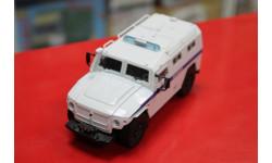 Автомобиль на Службе СПМ-2 (ГАЗ-233036 «Тигр» ОМОН МВД РФ 1:43  возможен обмен, масштабная модель, scale43