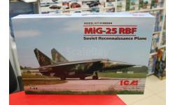 48904 МиГ-25 РБФ, Советский самолет-разведчик 1:48 ICM возможен обмен