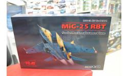 48901 МиГ-25 РБТ Советский самолет-разведчик 1:48 ICM возможен обмен, сборные модели авиации, scale48