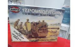 06361 17 Pounder Gun  1:32 Airfix возможен обмен, сборные модели артиллерии, Messerschmitt