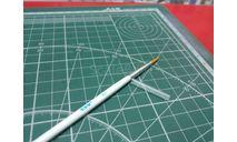 Кисть синтетическая круглая №2 JAS возможен обмен, инструменты для моделизма, расходные материалы для моделизма