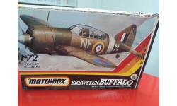 40024 Brewster Buffalo 1:72 MatchBox возможен обмен, сборные модели авиации, scale48