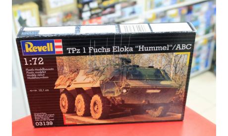 03139 TPz 1 Fuchs EloKa Hummel / ABC Spürpanzer 1:72 Revell возможен обмен, сборные модели бронетехники, танков, бтт, scale72
