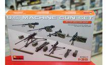 37047М 'Набор Американских Пулеметов' 1:35  Miniart   возможен обмен, элементы для диорам, scale35
