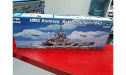 05764 HMS Renown Battlecruiser 1942 1:700 Trumpeter  возможен обмен, сборные модели кораблей, флота, Jaguar, scale0