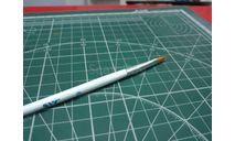 Кисть синтетическая плоская №6 JAS возможен обмен, инструменты для моделизма, расходные материалы для моделизма