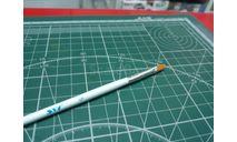 Кисть синтетическая плоская №5 JAS возможен обмен, инструменты для моделизма, расходные материалы для моделизма