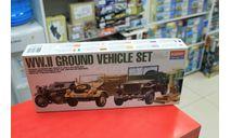 1310 WWII Ground Vehicles Set Набор начат 1:72 Academy возможен обмен, сборные модели бронетехники, танков, бтт, scale72