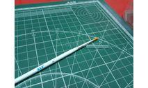 Кисть синтетическая круглая №4 JAS возможен обмен, инструменты для моделизма, расходные материалы для моделизма