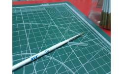 Кисть синтетическая круглая №00 JAS возможен обмен, инструменты для моделизма, расходные материалы для моделизма