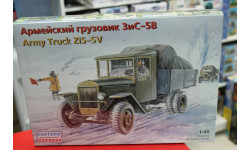 35151 ЗИС-5В Армейский грузовик обр. 1942 1:35 Восточный экспресс  возможен обмен, сборные модели бронетехники, танков, бтт, scale0