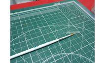 Кисть синтетическая круглая №1 JAS возможен обмен, инструменты для моделизма, расходные материалы для моделизма