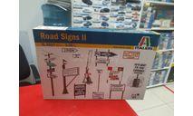 6527 ROAD SIGNS II 1:35 Italeri возможен обмен, элементы для диорам