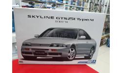 05654 Nissan Skyline GTS25t ECR33 typeM '94 1:24 Aoshima возможен обмен, масштабная модель, scale24