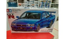 24210 Nissan Skyline GT-R V-spec R34 1:24 Tamiya Возможен обмен