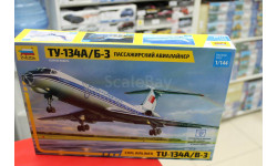 7007 Авиалайнер 'Ту-134 А/Б-3' 1:144 Звезда возможен обмен, сборные модели авиации, scale144
