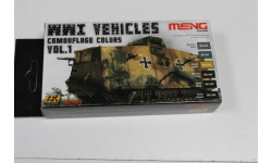 MC-804 WWI Vehicles camouflage colors vol. 1 AK-Interactive Возможен обмен