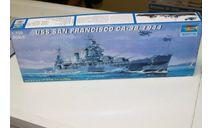 05747  Крейсер СА-38 'Сан Франциско' 1944 г.  1:700 Trumpeter возможен обмен, сборные модели кораблей, флота, ЗИЛ, scale0