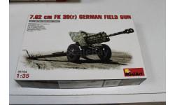 35104 7.62 cm FK 39(r) German Field Gun 1:35 Miniart Возможен обмен, сборные модели бронетехники, танков, бтт, scale43
