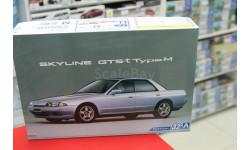 05307 Nissan Skyline GTS-t typeM '89 HCR32 1:24 Aoshima возможен обмен, сборная модель автомобиля, 1/24