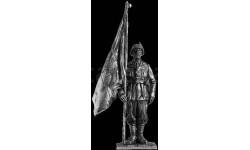 Итальянский знаменосец, альпийской дивизии 1942г. 102 54 мм Металл Ekcastings