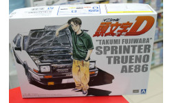 00320 Takumi Fujiwara 86 Trueno Comics vol.1 ver.(TOYOTA) 1:24 Aoshima возможен обмен, сборная модель автомобиля, scale24