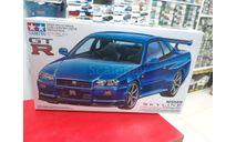 24210 Nissan Skyline GT-R V-spec R34 1:24 Tamiya Возможен обмен, масштабная модель, Subaru, scale24