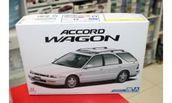 05573 Honda Accord Wagon Sir '96 1:24 Aoshima возможен обмен, сборная модель автомобиля, scale24