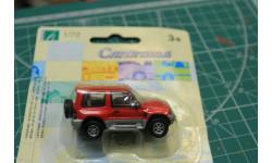 MITSUBISHI PAJERO красный 1:72 Cararama возможен обмен, масштабная модель, Nissan, scale72