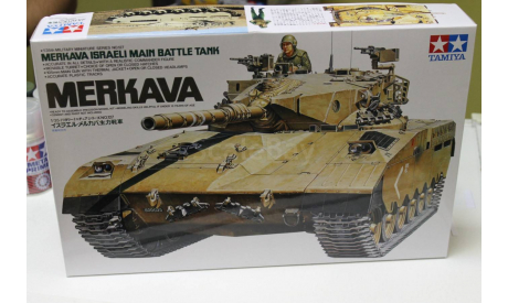 Обмен 35127 MERKAVA Mk.I  1:35 Tamiya, сборные модели бронетехники, танков, бтт, 1/35, Моделист, Mercedes-Benz