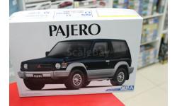 05697 Mitsubishi Pajero Metal Top Wide V24WG '91 1:24 Aoshima возможен обмен, сборная модель автомобиля, scale24