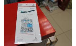 144218 Боинг-737-8 MAX (Звезда) 1:144 Микродизайн  возможен обмен, фототравление, декали, краски, материалы, Boeing, scale144