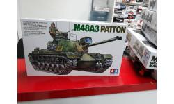 35120 Танк М48А3 Patton U.S.  1:35 Tamiya возможен обмен