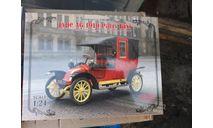24030 Парижское такси модели AG 1910 г. 1:24 ICM возможен обмен, сборная модель автомобиля, scale24