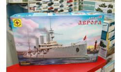 140002  крейсер 'Аврора' (1:400) Моделист возможен обмен, сборные модели кораблей, флота, scale0
