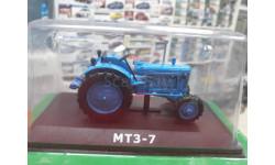 МТЗ-7 1:43 Hachette, масштабная модель трактора, Hanomag, 1/43